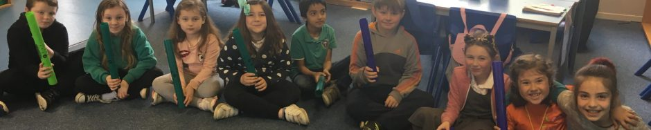 Boomwhackers with P4a!